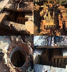 ESP- Estamos construyendo un pequeño horno para cocer una cantidad determinada de #cerámica rústica. #remodelación #Construcción  CAT- Estem construint un petit forn per coure una determinada quantitat de #ceràmica rústica #Construcció #arquitectura