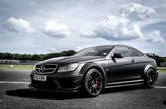 AMG C63 Black Series. In pearl white (I know, ironic) with gun metal rims and red calipers. Some day.
