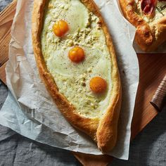 Khachapuri (Georgian Cheese and Egg Bread) Recipe on Food52 recipe on Food52