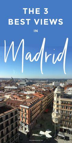 The best views in Madrid, Spain! #madrid #spain