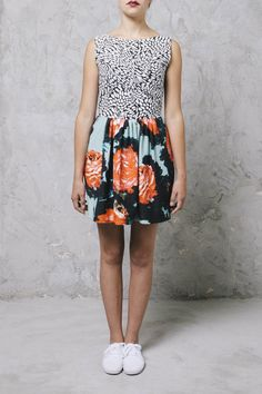 ABITO A FANTASIA  MarcoBologna  flower  dress  ShoppingOnline  summer  ootd    b031f3f2320