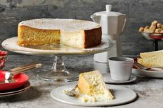 Fire up those ovens, this weekend it& time to get those eggs cracking, that butter melting and that crust crisping. Here, we chart our 48 all-time favourite cake recipes. Good luck limiting yourself to just one. Cheesecake Recipes, Dessert Recipes, Desserts, Italian Ricotta Cheesecake, Delicious Magazine Recipes, Italian Cake, Tray Bakes, Baking Recipes, Free Recipes