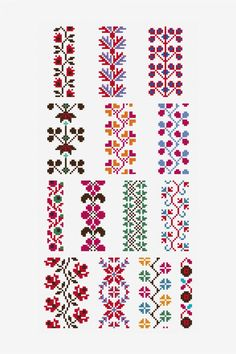 Pattern Point de marque 4.4 - Cross stitch patterns - DMC