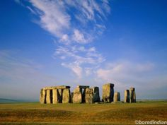 the mystical Stonehenge in England