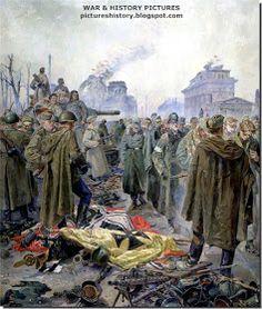 Red army kills German soldiers randomly
