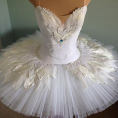 white swan www.theworlddances.com/ #costumes #tutu #dance
