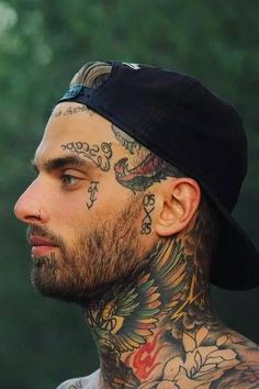 Badass Face Tattoos – Badass Tattoos For Men: Best Tattoo Ideas and Cool Designs… Badass Face Tattoos – Badass Tattoos For Men: Best Tattoo Ideas and Cool Designs… Face Tattoos For Men, Tattoos For Guys Badass, Tattoos For Kids, Great Tattoos, Tattoo Cake, Tattoo Designs, Tattoo Background, Tattoo Trends, Tattoo Ideas
