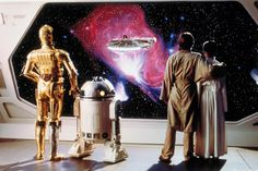 Star Wars Droids Droid Robot Robots R2-D2 R2D2 C-3PO C3PO Luke Skywalker Princess Leia Sci-Fi Science Fiction Fantasy Empire Strikes Back Episode V