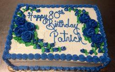 Birthday sheet cake - Mueller's Bakery!