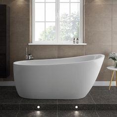 Turin 1665 Modern Slipper Free Standing Bath
