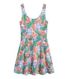 Jersey dress | Light pink/Patterned | LADIES | H&M NZ