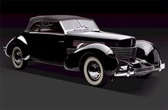 1937 Cord 812 Roadster