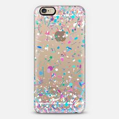 Girly Confetti Explosion Transparent iPhone 6 Case by Organic Saturation | Casetify. Get $10 off using code: 53ZPEA