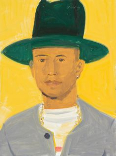 The Art of Being Pharrell - Alex Katz portrait of Skate Board P