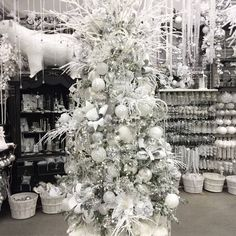 Winter Wonderland area at Holiday Warehouse in Plano, TX