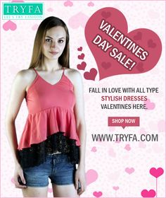 Visit to our website for latest fashionable clothes for women/Girls as tops, skirts, jumpsuit, bottoms and more. Grab latest fashion trand in India with TRYFA. Latest Dress For Girls, Latest Fashion For Women, Latest Fashion Trends, Fashion Online, Valentine Special, Special Dresses, Stylish Dresses, Dresses Online, Special Occasion