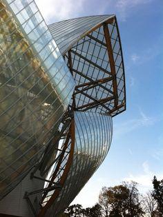 Fondation Louis Vuitton - Architecte : Frank Gehry