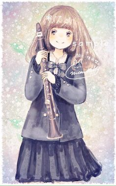 Clarinet girl