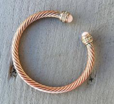 Vintage David Yurman Inspired Silver on Copper by Statusjacker