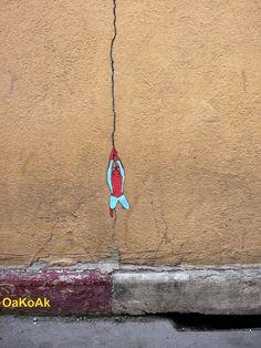 Creative Street Art by OakoAk