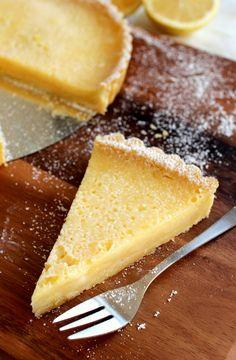 Wicked sweet kitchen: Ranskalainen sitruunapiirakka / Tarte au citron