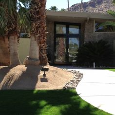 Great Palm Springs home that we saw today!