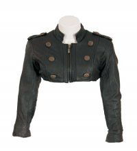 Leather Short Fitted Ladies Jacket