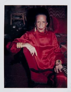 Andy Warhol, Diana Vreeland, 1983