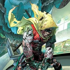 After Batman and Frankenstein locate Ra's and the bodies, they are too late as Ra's has successfully had them placed in a Lazarus Pit, leaving Batman in dread of Damian's fate.[47] The resurrections fail, leaving Ra's to realize his arrogance for allowing the Heretic to kill his grandson, and regret of allowing Talia to clone Damian.