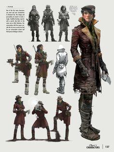 Fallout 4 - Piper Concept Art - Imgur