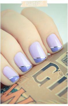 lovely lavender nails