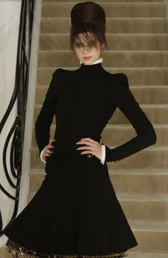 Caitriona Balfe at Chanel Haute Couture    Fall/Winter 2002    Opening Look