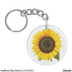 Sunflower Key Chain