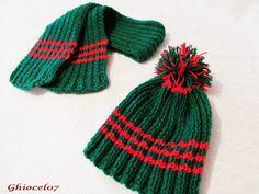 Caciulita Craciun Knitted Hats, Beanie, Knitting, Fashion, Moda, Tricot, Fashion Styles, Breien, Stricken