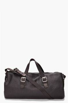 Marc By Marc Jacobs Leather Duffle Bag