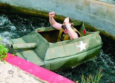 Once A Year The New Braunfels Yacht Club Sponsors Cardboard Boat Race Not