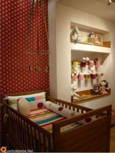decoracao quarto infantil berco madeira