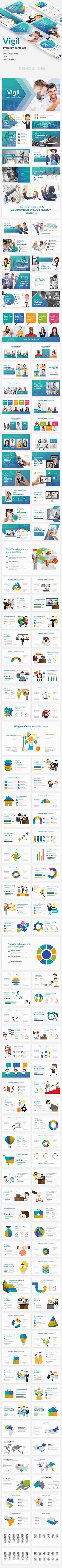 #Vigil Business Premium #Powerpoint Template - Business PowerPoint Templates