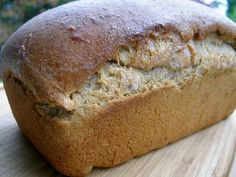 A Messy Kitchen: Soaked whole grain bread