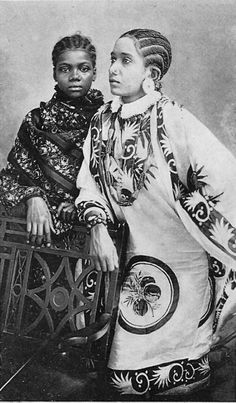 "The Two Arab Ladies: Zanzibar"" Photo. African Culture, African History, African Art, African Tribes, African Diaspora, Native American Images, Native American Indians, Arab Women, Arab Ladies"