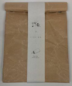 Taske med tryklåse brun - ITO accessories