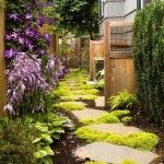 Garden Footpath Cool Walkway
