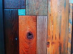 Reclaimed Barn Wood Spot of Blue