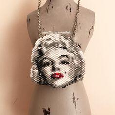 Marilyn Monroe (yapan arkadaşlar beni etiketlesin lütfen. Friends who make this model tag me please . )  ............................................................................................. .. .. .. .. .. .. .. .. .. #miyuki#miyukibeads#takı#jewelry#forsale#satılık#earrings#handmade#handcraft#miyukiearring#hediye#miyukidelica#necklace #bracelet#beads #beadweaving#beadwork#handmadejewelry#workshops#perlesmiyuki#takıtasarımı#designer#design#kolye#fashion#moda#tarz#eskisehir#kurs#ma...