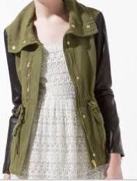 NEED a jacket like this Olivia Palermo, Zara Parka, Safari Jacket, Zara Women, Outerwear Women, Dress Me Up, Ideias Fashion, Ready To Wear, Cool Outfits
