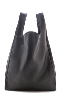 MM6 Maison Martin Margiela Leather Shopper.  On my Winter 2013 list of want bags.
