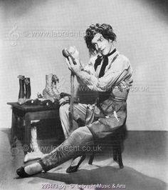 Leonide Massine in scene from film 'Red Shoes' / Leonide Massine as the Shoemaker  in scene from film 'Red Shoes'. Russian choreographer and ballet dancer.  9 August 1896 - March 15, 1979