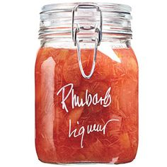 Rhubarb Recipes | Rhubarb Liqueur | CookingLight.com