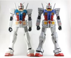 Mega Size 1/48 RX-78-2 Gundam RG Edition customized build by ST    woow!!! this is really cool ^_^   source: http://www.geocities.jp/takep...