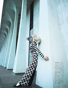 Publication: Vogue Japan February 2013  Model: Aymeline Valade  Photographer: Emma Summerton  Fashion Editor: Patti Wilson